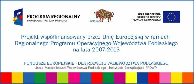 Regionalny Program Operacyjny Województwa Podlaskiego na lata 2007-2013